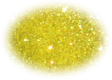 Amerikan Body Art Iridescent Glitter Lemon Zest in Puffer Bottle
