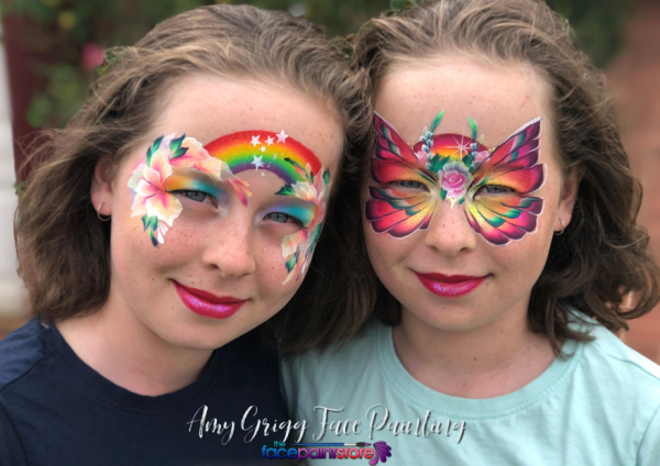 Private Face Painting Class with Amy