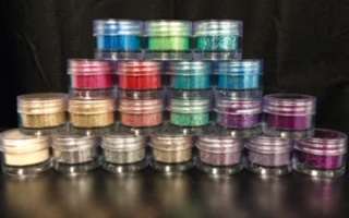 Bioglitter Loose Glitters FULL SET of 20 glitters