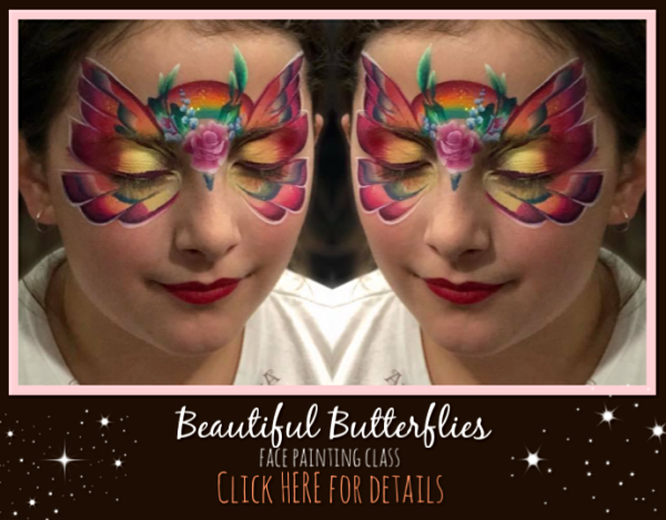 Beautiful Butterfly and Fabulous Fairies Face Painting Class