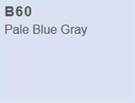 Copic Ciao Marker B60 Pale Blue Gray