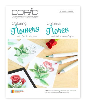 Copic Colouring Foundations- Colouring Flowers
