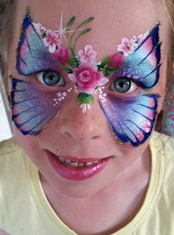 Face Painting workshop- Beautiful Butterflies