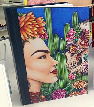 "Journal ""Defiance""A portrait of Frida Kahlo By Amy Grigg"