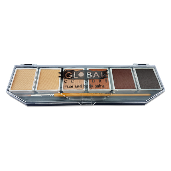 Global Colours Skin Tone Palette