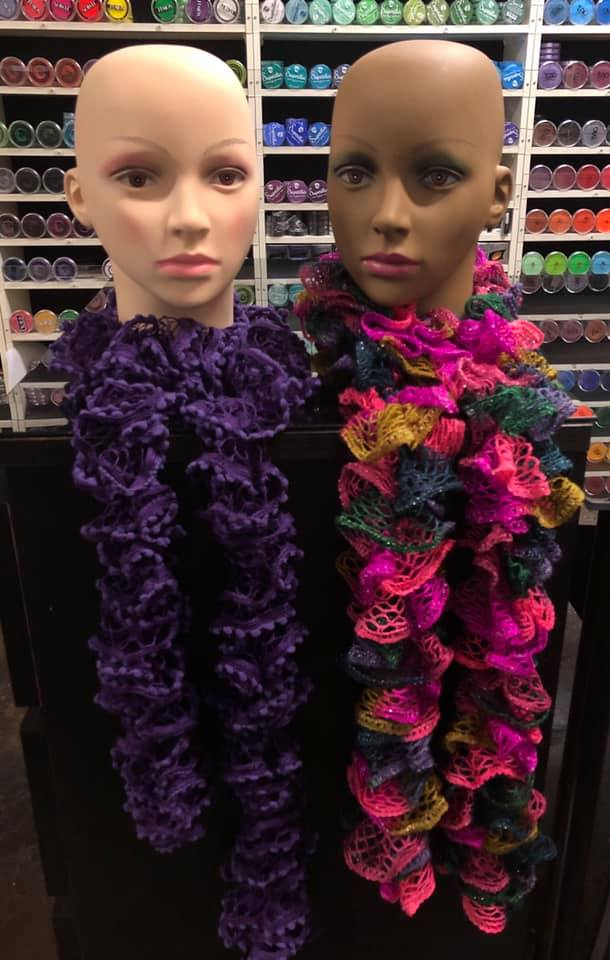 Recycled Fashion- Funky Scarves