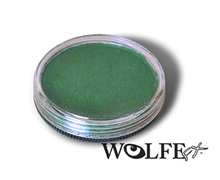 Wolfe FX Face and Body Paint 30g Metallix Green