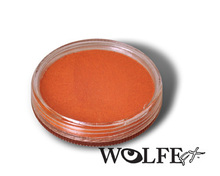Wolfe FX Face and Body Paint 30g Metallix Orange