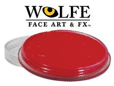 Wolfe FX Face and Body Paint 30g Essential Red #30